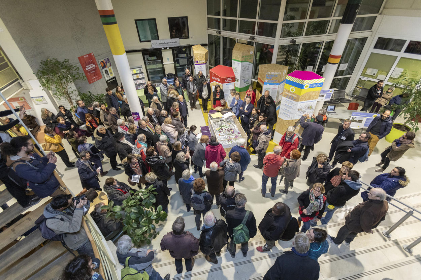 La Maison du projet a été inaugurée le vendredi 15 novembre.